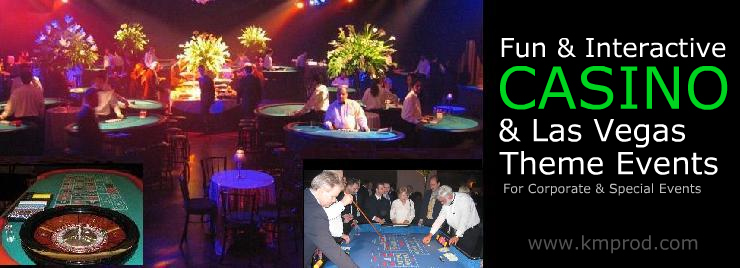 Casino Events & Las Vegas Themes for Corporate & Special Events