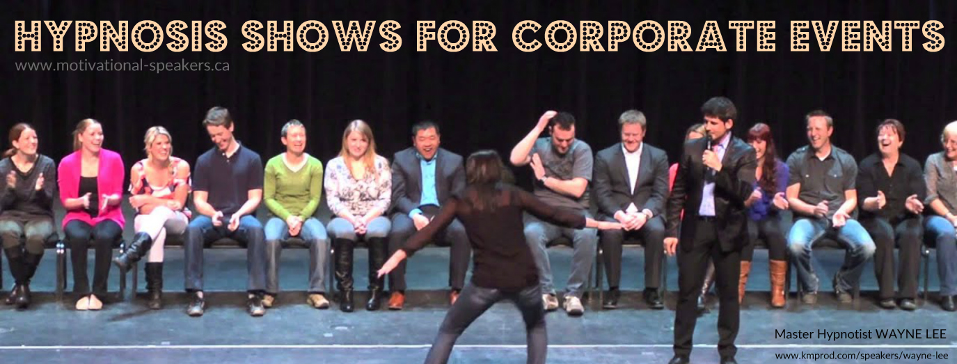 Hypnosis shows for corporate and special events