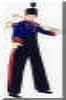 toy soldier stilt-walker doug hunt toronto