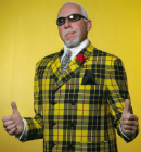 booking don cherry impersonator clark robertson