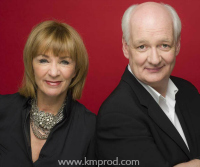Colin Mochrie and Debra McGrath