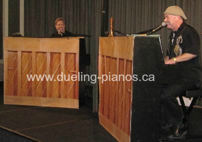 booking dueling pianos shows toronto