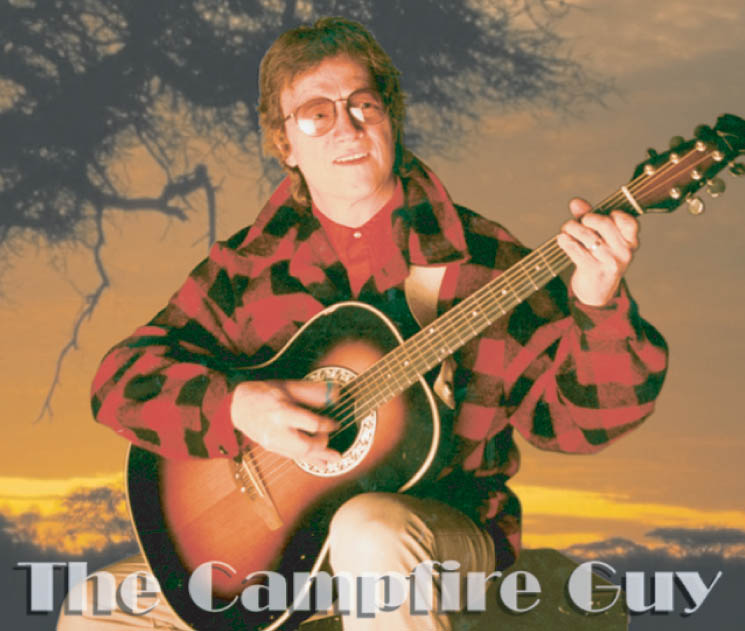 The Campfire Guy - Campfire Music, Tom Taylor - www.kmprod.com