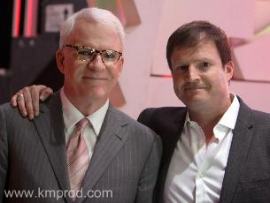 Steve Patterson with Steve Martin
