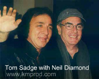 booking neil diamond tribute impersonator tom sadge