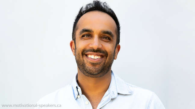 Happiness Speaker Neil Pasricha